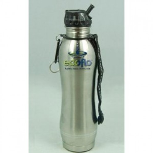 Ecoflo Stainless Steel Water Filter Bottle /26oz