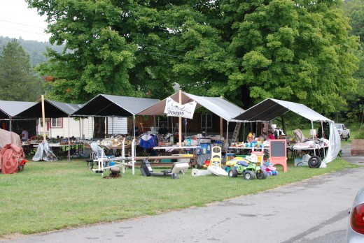 Yard sale in Duncansville Pa.