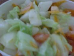 A generous salad dressing