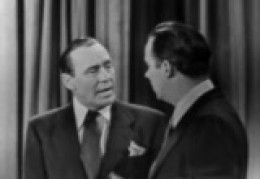 Public Domain Still from 1951 Episode of the Jack Benny Show