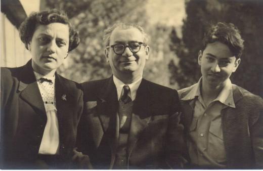 Klara, Benzion and Amnon