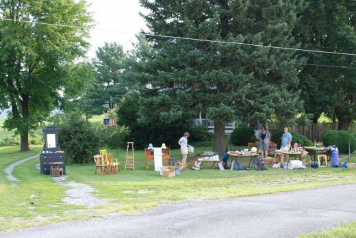 Yard sale found near Hagerstown.