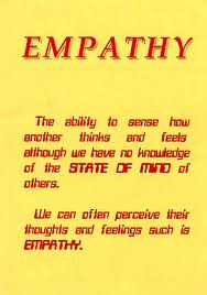 empathy: is an art of the heart