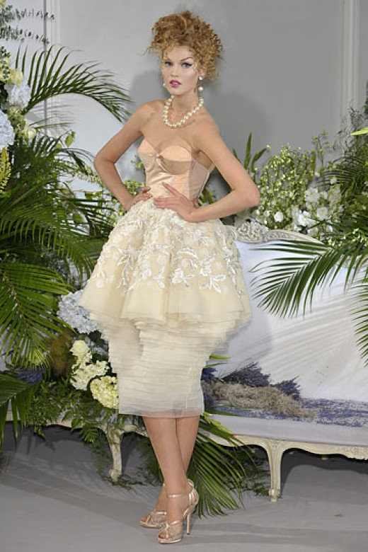 Pnina Tornai for Kleinfeld 2009 Winter Collection Dior