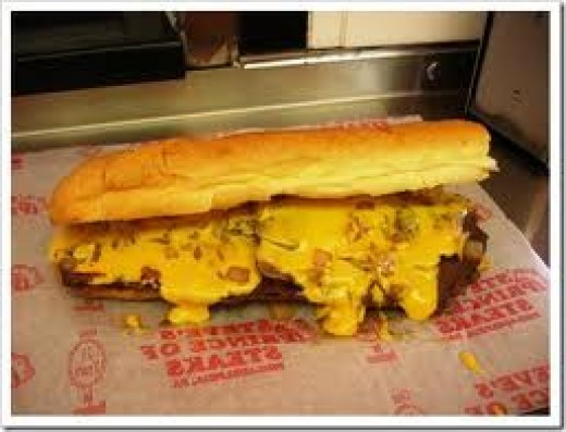 Cheesesteak from Steve's Prince of Steaks