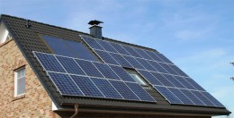 You need a large roof area to install solar panels