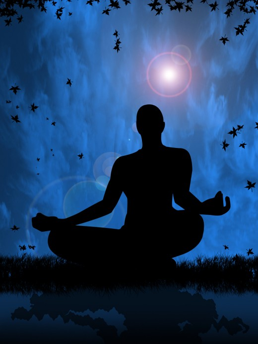 Meditate, practice yoga or something else that will calm your thoughts before sleeping