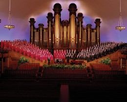The Choir inside the Tabernacle