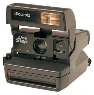These Polaroid cameras once were state of the art...