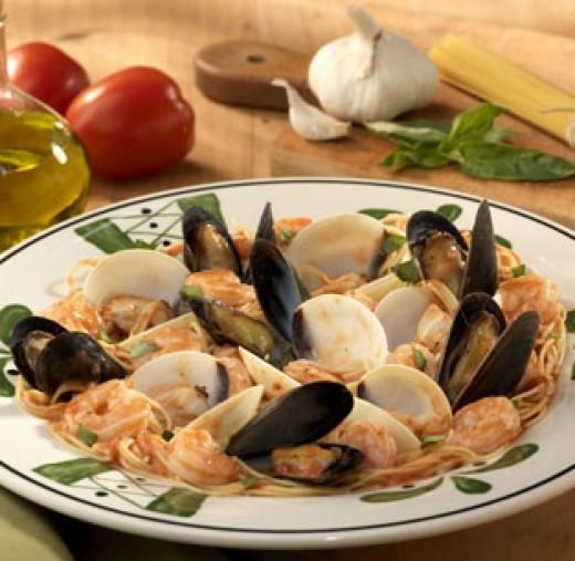Olive Garden Copycat Recipes Capellini Di Mare