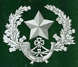 Regimental Crest of the Cameronians (Scottish Rifles)