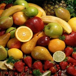 Load up on your fruits - at least 5 servings per day.