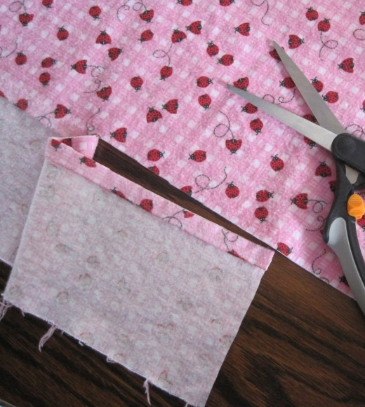 Second Cut of Flannel Fabric