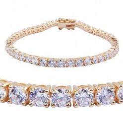 Costume Gold Tennis Bracelets that Give you a Price Advantage