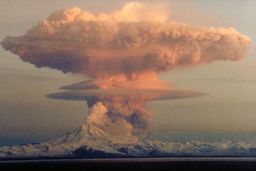 Nuclear explosion.