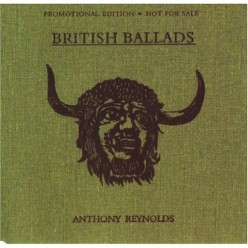 British Ballads by Cardiff singer-songwriter and author Anthony Reynolds