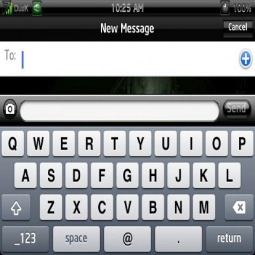 Text Messaging Keyboard
