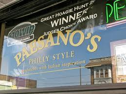 Paesano's Deli 152 W. Girard Avenue Philadelphia, PA