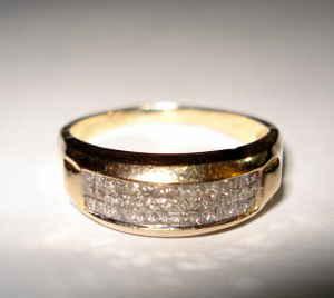 Chanel Gold Diamond Ring