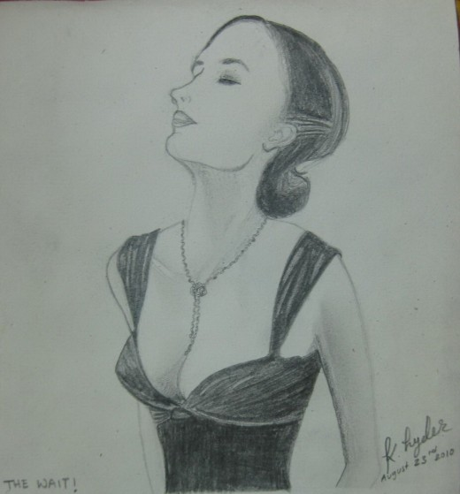 Finished Drawing of Eva Green