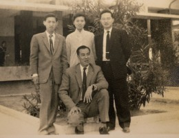 The Lam brothers and my parents