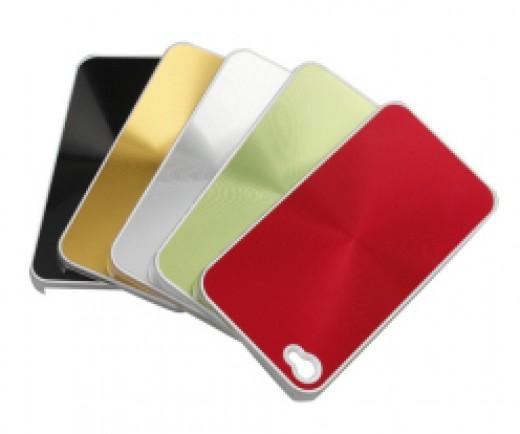 Black And White Iphone 4 Case. Aluminum iPhone 4 Case Black