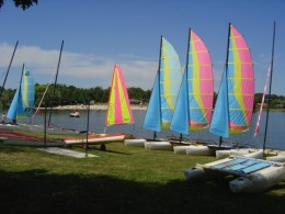 Enjoy walking, riding, swimming, eating and water sports at the Lakes of the Haute Charente