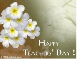 [Teachers Day celebration]