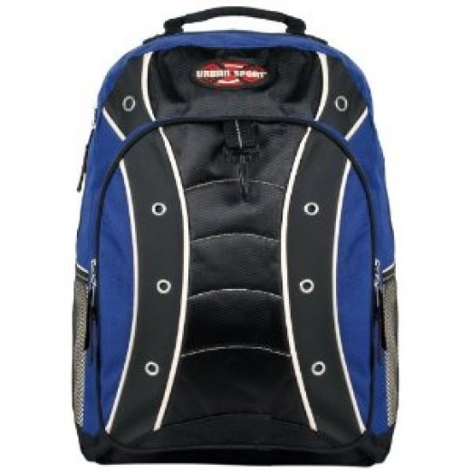 Urban Sport High Quality Polyester Student School Backpack/ Outdoor Backpack/ Sports Bag - 4 Color Options