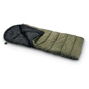 Guide Gear Minus 15 Degrees Sleeping Bag Green