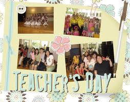 [Teachers'day celebration]