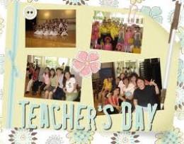 [Teachers'day celebration]