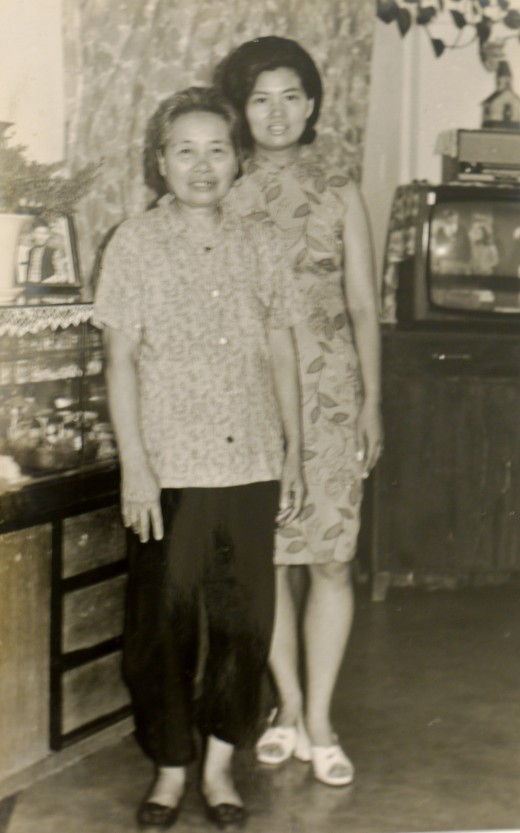 Mum and Fung Po