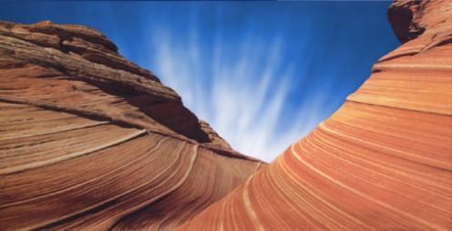 photo-enhanced desert