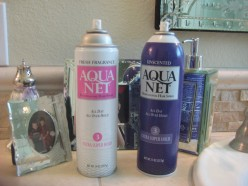 Why I Love Aqua Net / aquanet hairspray