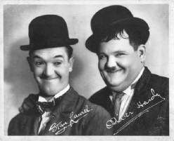 Stan Laurel and Oliver Hardy: The first movie comedy team