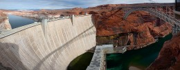 Dams are used for extracting Hydropower Energy.