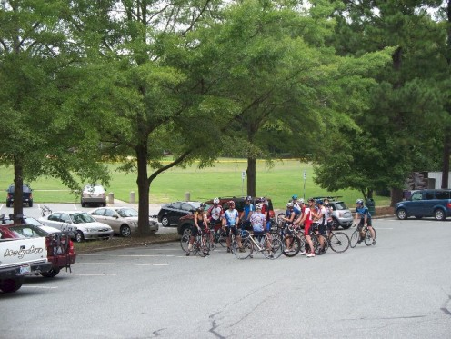Tarwheels' Carrboro B Ride