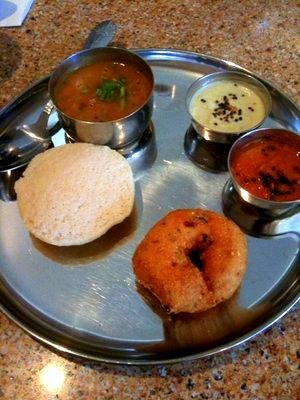 Idli, Vada and Sambar
