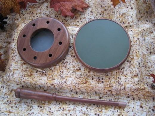 CCW Dual Slate Friction Pot Turkey Call