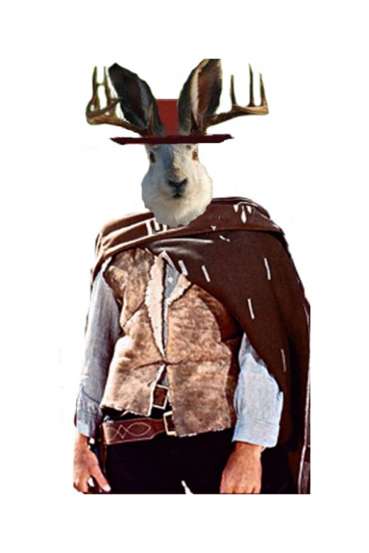 The Jackalope with no name - image by RedElf - photo from topicstosk.pantip.com