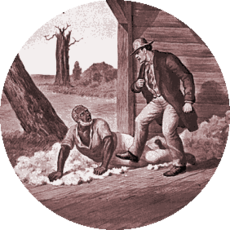 Illustration from Uncle Tom's Cabin supplied by Wikipedia