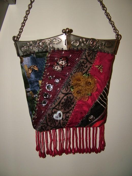 Box Frame purse