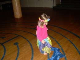 Children are very imaginative, playful, and expressive labyrinth walkers