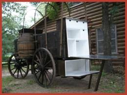 Ash wood wagon
