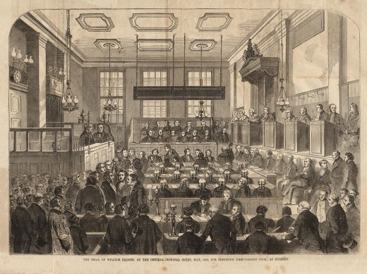 The Old Bailey Court Room