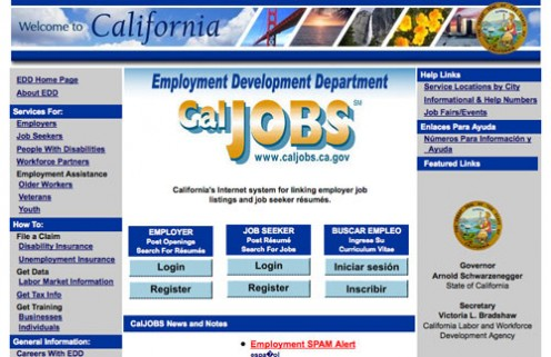 rivcojobs at wi about caljobs caljobs career center