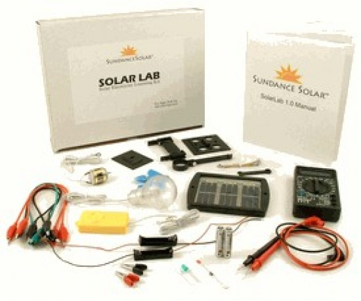 Learn how solar cells can be used in real electric circuits.