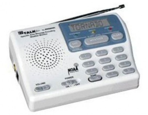 a weather radio will keep you informed of conditions, and any evacuation orders