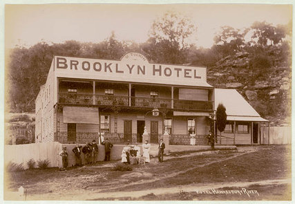 This hotel at Brooklyn would have been there at the time of this story